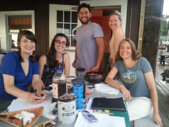 ODDS team @ the OBCC planning for Summer Programming
