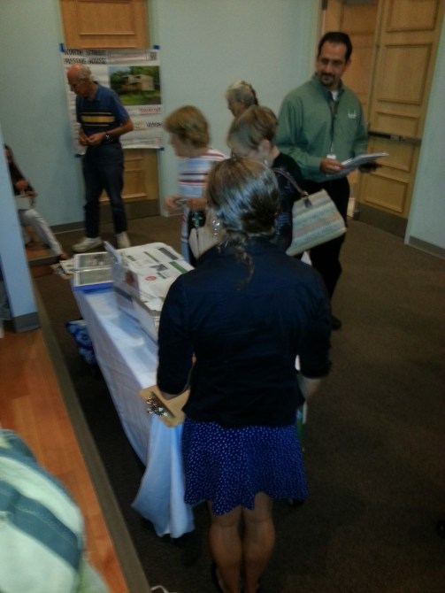 Homeowners Checking out Energize Materials
