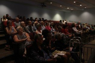 The town turned out to learn about Bayard Rustin and the March on Washington