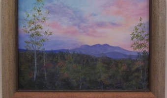 Oil Paintings by Pat Jones will be on Display at the Ossipee Public Library through the month of August