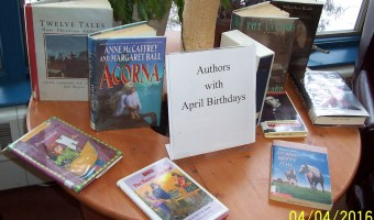 Authors with April Birthdays