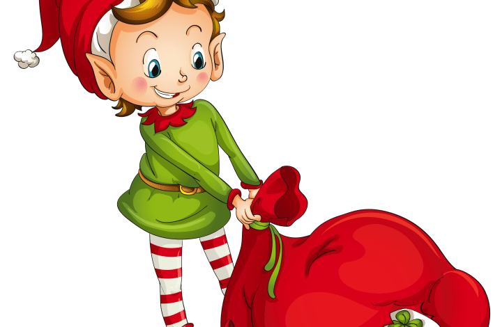 Holiday Stories with Library Elves