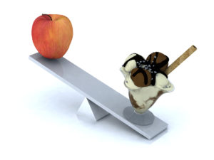 seesaw with apple and ice cream best weight loss secret.