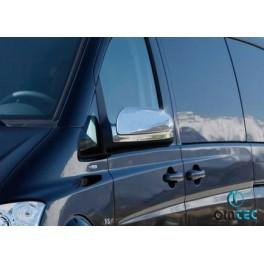 Capace oglinzi cromate Mercedes Vito 2010-2014 W639