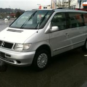 Bare longitudinale Mercedes Vito 1996 -2003 W638
