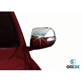 Capace oglinzi inox Toyota Land Cruiser Prado 150 2010+