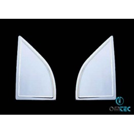 Ornamente inox suport oglinzi Nissan Navara 2006+