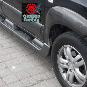 Praguri laterale originale ABS personalizate Hyundai Tucson