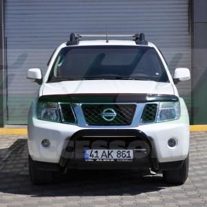 Bullbar bara protectie fata carbon Nissan Navara 2010-2015