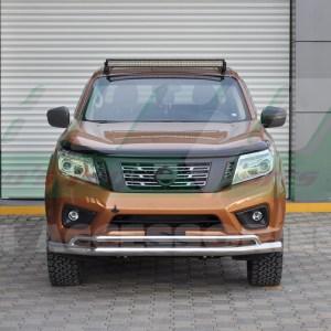 Bara protectie fata inox Nissan Navara 2015+
