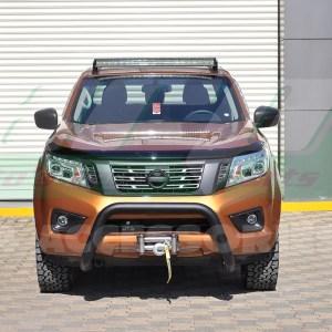 Bullbar bara protectie fata carbon Nissan Navara 2015+