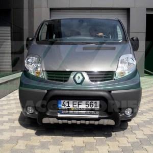 Bullbar bara protectie fata poliuretan Renault Trafic 2004+