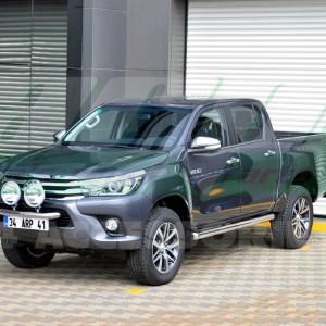 Praguri laterale inox Toyota Hilux 2006+
