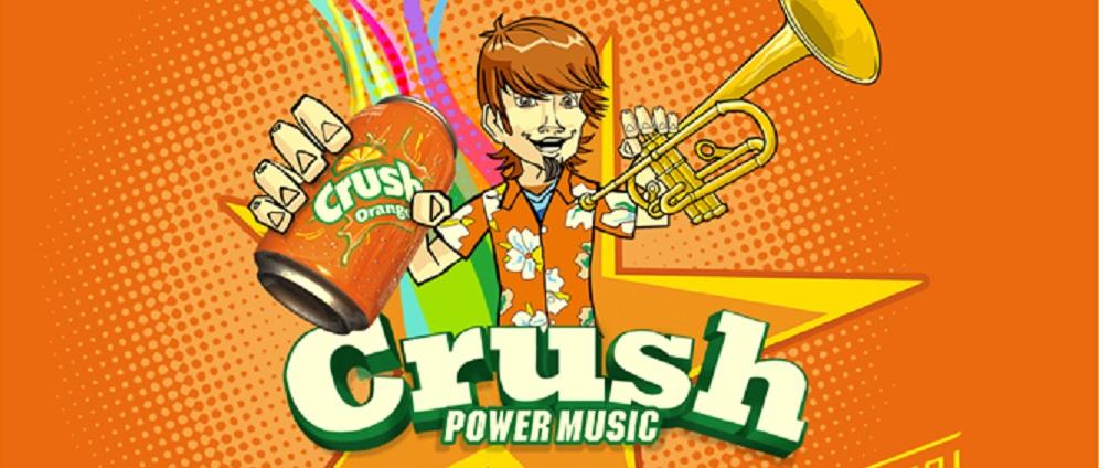 SE VIENE CON TODO EL CRUSH POWER MUSIC 2013