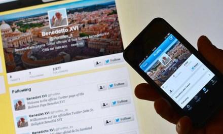 El Papa ya tiene 500.000 followers en Twitter