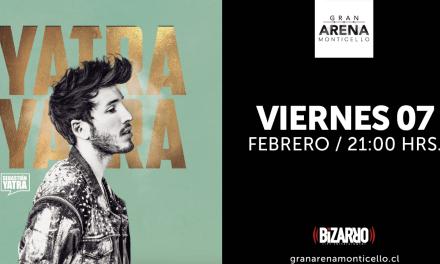 Sebastián Yatra regresa a Chile con espectacular show en Gran Arena Monticello