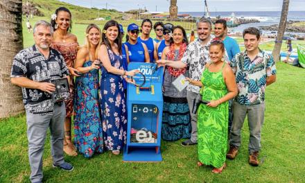 Convenio entre Entel, Midas Chile y Municipio: Alianza público-privada permitirá reciclar residuos electrónicos en Rapa Nui