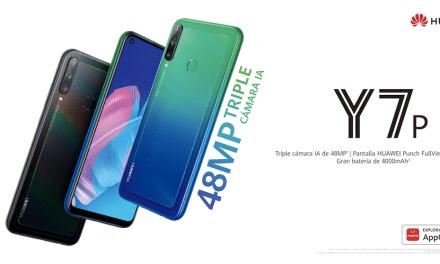 Este viernes se pone en la venta en Chile el nuevo HUAWEI Y7p, smartphone con lo mejor del ADN de la Serie Y