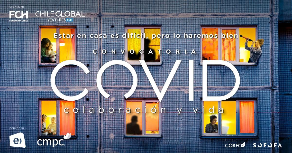 """Fundación Chile:  Lanza fondo """"Covid, Colaboración y Vida"""" para impulsar innovaciones que hagan frente a crisis sanitaria y económica"""