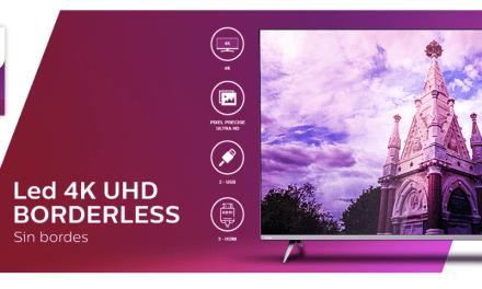 Lanzamiento de TV Philips sin bordes #Borderless