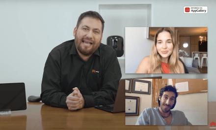 Belén Soto y Pedro Astorga presentaron los nuevos productos de Huawei