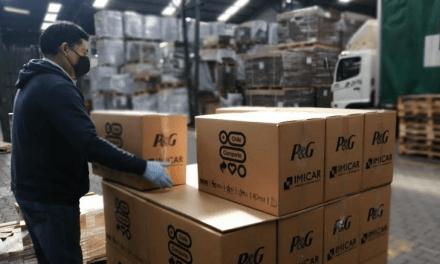 P&G Chile donará productos de higiene y hogar a familias vulnerables y a personal médico