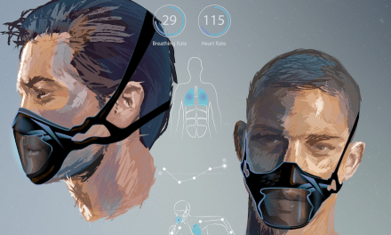 """Reebok revela conceptos de diseño para """"mascarillas deportivas del futuro"""""""
