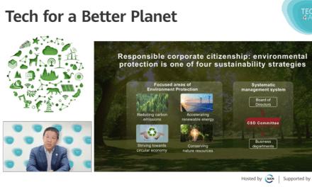 Huawei prevé que las emisiones de carbono por  conexiones TIC se reducirán en un 80% a 2025