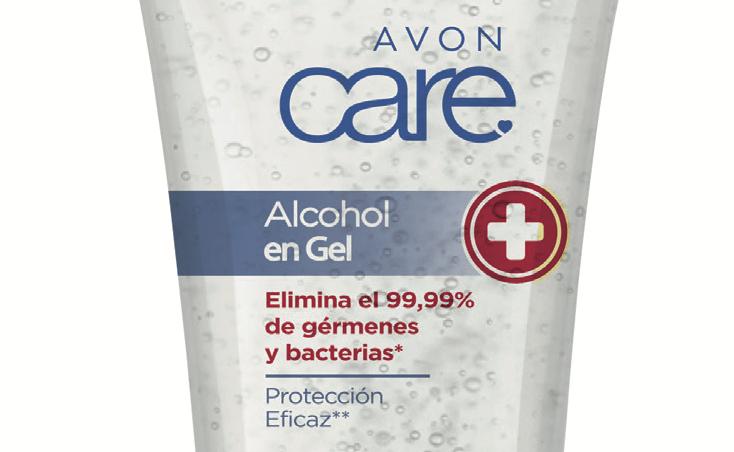 Avon comienza la venta de alcohol gel en Chile