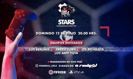 Nico Castillo, Mauricio Pinilla y Kaiser protagonizarán el campeonato de FIFA Red Bull Lola 12 Stars