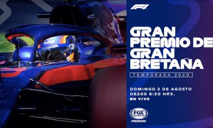 FÓRMULA 1: GRAN PREMIO DE GRAN BRETAÑA DESDE EL CIRCUITO DE SILVERSTONE EN VIVO POR FOX SPORTS PREMIUM