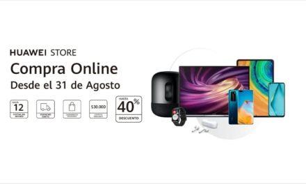 Huawei abre las puertas de su tienda online en Chile con lanzamientos exclusivos y descuentos de hasta un 40%