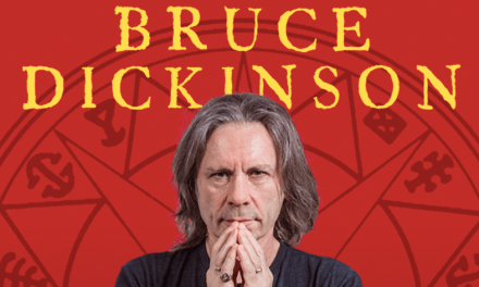 BRUCE DICKINSON WHAT DOES THIS BUTTON DO?, Un encuentro con Bruce Dickinson