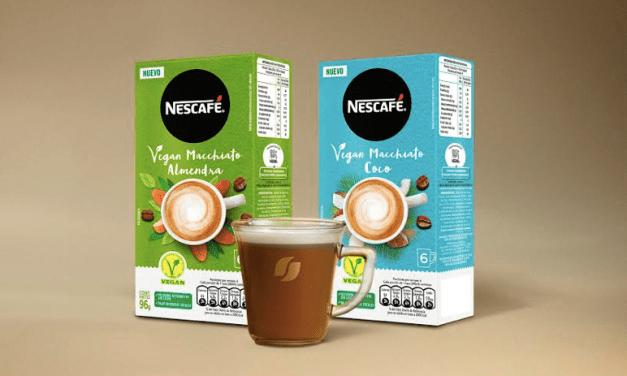 NESCAFÉ® lanza Vegan Macchiato, el primer café instantáneo con bebida vegetal del mercado