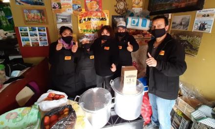 MAGGI apoya 29 ollas comunes de Bajos de Mena con utensilios y alimentos