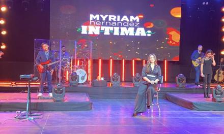 ÉXITO TOTAL: EL PRIMER CONCIERTO ONLINE DE MYRIAM HERNÁNDEZ FUE VISTO EN 20 PAÍSES.
