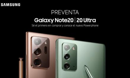 Preventa del Powerphone Galaxy Note20 y Note20 Ultra inicia el 27 de agosto