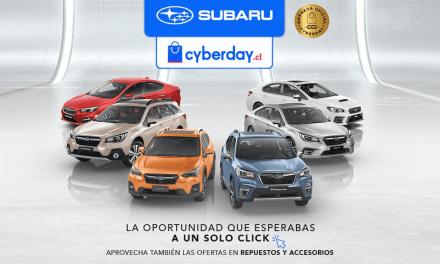 """Subaru, una vez más presente en """"Cyber Monday"""""""