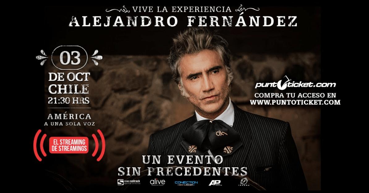 ALEJANDRO FERNÁNDEZ AMÉRICA A UNA SOLA VOZ