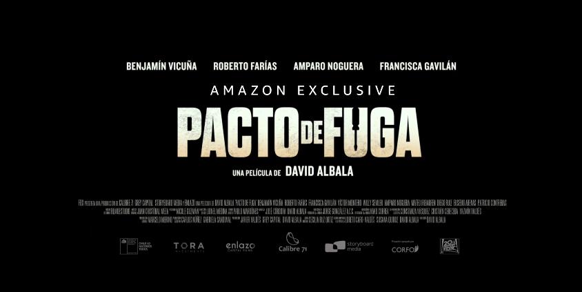 """""""PACTO DE FUGA"""" Ya se encuentra disponible en  Amazon Prime Video"""