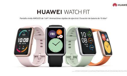 Huawei lanzará el nuevo Watch FIT, un reloj inteligente con pantalla rectangular y batería de hasta 10 días de autonomía
