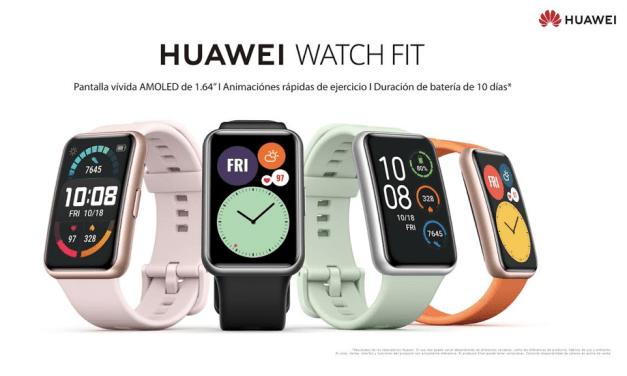 El nuevo HUAWEI Watch FIT hace su arribo oficial al retail nacional