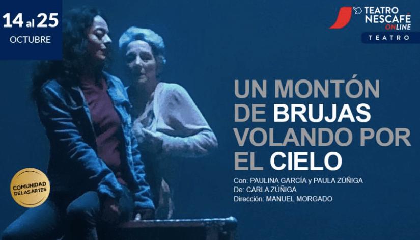 Paulina García y Paula Zúñiga protagonizarán obra sobre el rol de la mujer en la sociedad actual