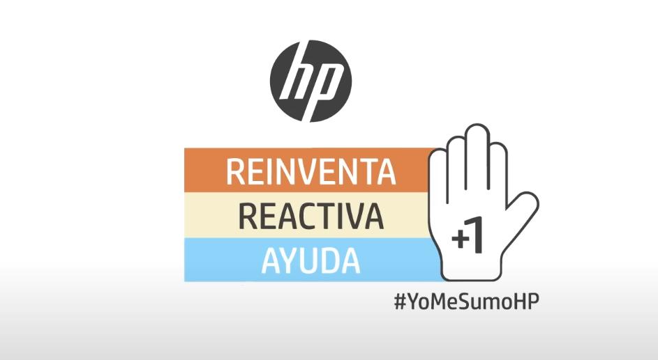"""HP lanza la campaña """"Reinventa, Reactiva y Ayuda"""""""