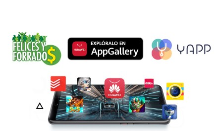 Las aplicaciones Yapp y Felices y Forrados aterrizan en la AppGallery de Huawei