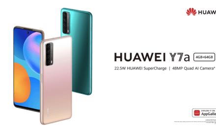 Huawei no escatima en la calidad de  sus cámaras en su smartphone Y7a