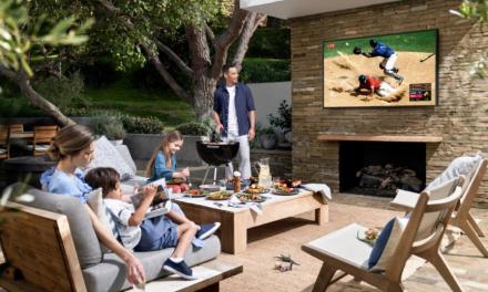 Samsung : ¿Por qué es una buena idea instalar un televisor en tu terraza al aire libre?