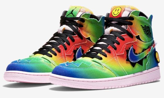 Las Nike Air Jordan 1 Retro High OG x J Balvin llegan a Drops