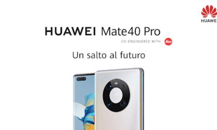 Con atractiva promoción, Huawei lanza una preventa exclusiva de su nuevo smartphone Mate 40 Pro