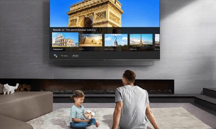 Ya está en Chile el primer televisor 8K con cámara web incorporada